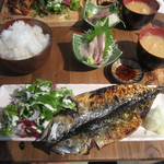 酒と泪と肴と炉ばた - 炭焼き魚定食でございます