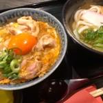牛銀 さすけ - 究極のミニ親子丼定食