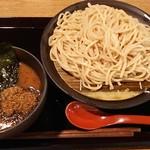 是・空 - 料理写真:つけ麺大盛り。