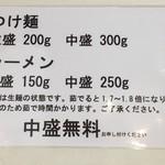 永太 - 麺量
