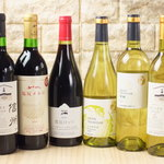 十割つけ蕎麦ムラマサ - ボトルワインは国産ワイン
