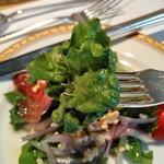 コーヒーショップ ダイニングカフェ カメリア - [料理] プロシュートのサラダ 葉物野菜 アップ♪w