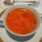 コーヒーショップ ダイニングカフェ カメリア - [料理] フランス田舎風スープ ①