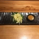 奄美居酒屋ごっぱち - 島たけのこ刺身