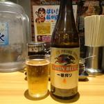 らあめん花月嵐 - 瓶ビール