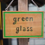 green glass -