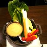 85228662 - たっぷり野菜のバーニャカウダ1480円