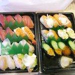 スシロー - 料理写真:持ち帰り寿司
