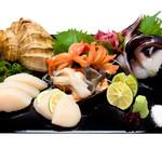 つきぢ神楽寿司 - 貝盛合せ