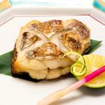 つきぢ神楽寿司 - 太刀魚塩焼き