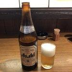 85231721 - アサヒ中瓶ビール♪