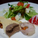 TRATTORIA TRINITA - (2018/3月)前菜盛り合わせ