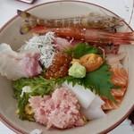 85233626 - てんこ盛り海鮮丼(¥1,980円)