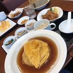 中国料理千琇 - 選べる炒飯ランチ 850円 4品の中から天津炒飯チョイス