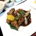 中国料理千琇 - 黒酢豚