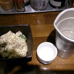 魚椿 栄店 - ポテサラと日本酒