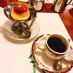 グリーンハウス - サービスセットのプリンと1/2コーヒー