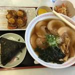 やまぶき - 料理写真:チャーシューメン定食 950円