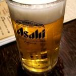 大衆肉割烹 肉じるしるし - 生ビール