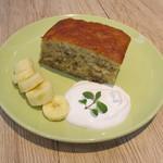 フラワー ナチュラル フード カフェ - バナナのパウンドケーキ