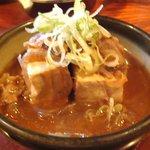 朝日屋  - 肉豆腐 450円