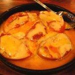 朝日屋  - トマトチーズ焼き 450円