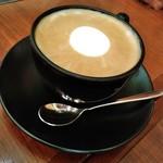 丸の内 CAFE 会 - [ドリンク] カフェラテ アップ♪w