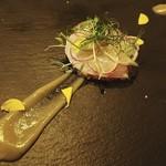 カフェヒラコンシェクラシック - 真鯛のカルパッチョ