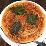 IVO ホームズパスタ - バジリコとトマトのスパゲティ