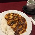 85242188 - 麻婆豆腐ランチ