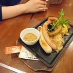 ビヤレストラン 銀座ライオン - ソーセージの盛り合わせ