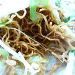 長崎ちゃんぽん・皿うどん専門店 尚  - 細くパリパリ感のある麺