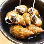 割烹 市川 - ばい貝の旨煮