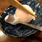 串かつ料理 活 - デザートのアイス
