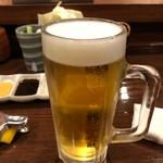串かつ料理 活 - 生ビール