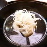 味 ふくしま - 椀物は鯉
