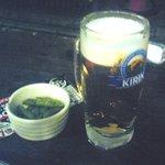 8525128 - お通し+生ビール