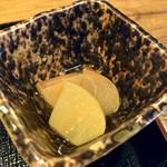 蓼山亭 - リンゴのコンポート