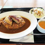 堂島カレー - 牛メンチカツカレー850円