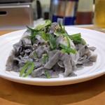 焼肉やっちゃん - 料理写真:センマイ刺し