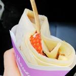 クレープハウス ピーナッツ - 料理写真:カスタードイチゴチョコ