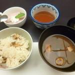 八勝閣 みづのを - '18/05/01 あさり御飯と赤味噌