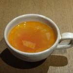 85254654 - スープ(ローストビーフ&雑穀米サラダランチ)