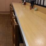 一ぷく - 椅子有り側のカウンター席