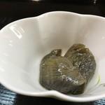 青柳 - 茄子の旨煮(2018.5.4)