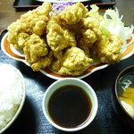 定食佐々久 - ザーカイ定食(小盛)