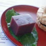 二葉家菓子舗 - 水羊羹(みづやうかん)