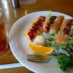 維納倶楽部 - 料理写真:モーニングプレートセットA(700円)