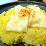 スープカレーガラク - チーズオンライス 170円