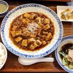 85262056 - 麻婆豆腐定食